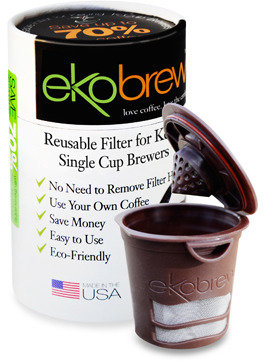Keurig Ekobrew Canister Reusuable Coffee Filter for Single Cup Brewers