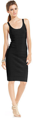 GUESS Cap-Sleeve Body-Con Dress