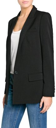 MANGO Outlet Boyfriend Suit Blazer