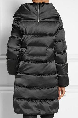 Diane von Furstenberg Zona quilted satin coat