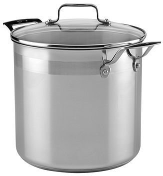 Emerilware Emeril by All-Clad Stainless Steel 8 Qt. Covered Stockpot