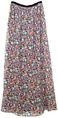 Derek Lam 10 Crosby by Floral Maxi Skirt