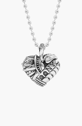 Lagos 'Hearts of New York' Reversible Pendant Necklace