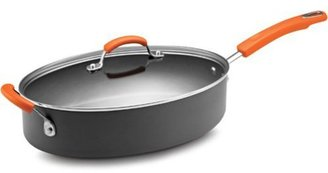 Rachael Ray 5-qt. Oval Nonstick Hard Anodized II Saute Pan
