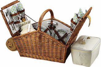 Huntsman Basket for Four with Blanket
