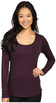 Lucy L/S Workout Tee $49 thestylecure.com