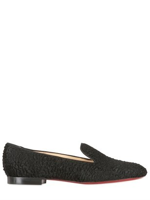 Christian Louboutin 10mm Sacouette Pony Loafers