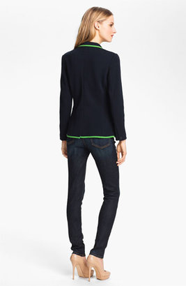 Rag and Bone rag & bone 'Bromley' Contrast Trim Wool Blazer Medium
