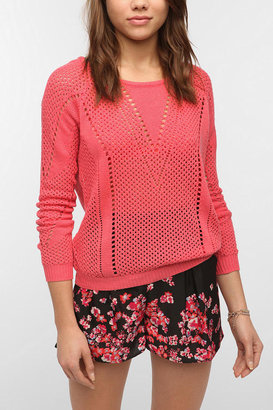 Urban Outfitters Pins and Needles Open Stitch Sweater