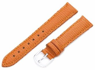 Hadley Roma Hadley-Roma 16mm 'Women's' Leather Watch Strap