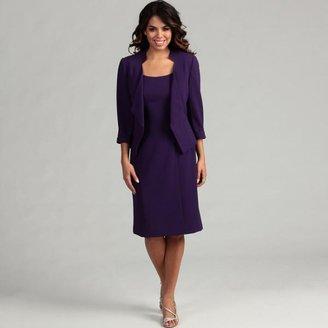 Tahari Women's Crepe Jacket Dress $71.24 thestylecure.com