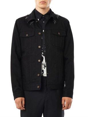 Givenchy Star-embellished denim jacket