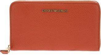 Emporio Armani zip around wallet