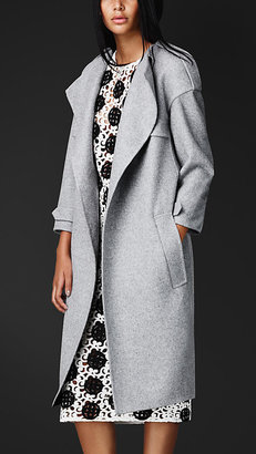 Burberry Double Cashmere Trench Coat