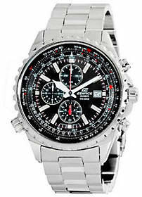 Casio Men's Edifice Stainless Steel Multi-Funct