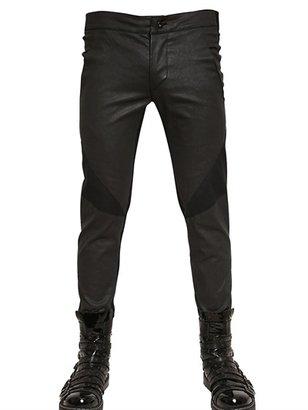 Gareth Pugh Light Waxed Stretch Cotton Trousers