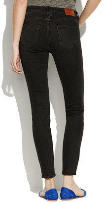 Madewell High Riser Skinny Skinny Jeans in Onyx Wash