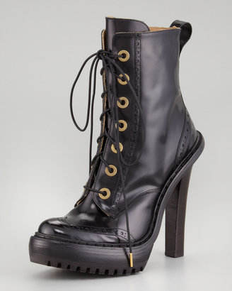 McQ by Alexander McQueen Lace-Up Oxford Boot