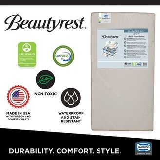 Simmons Beauty Sleep 2-Stage Waterproof Standard Crib Mattress