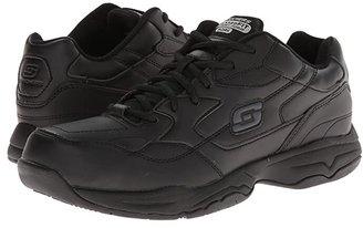 Skechers Felton (Black) Men's Lace up casual Shoes