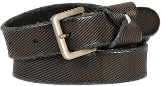 POMANDERE Textured Leather Belt