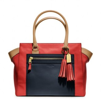 Coach Legacy Colorblock Leather Candace Medium Carryall