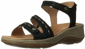ACORN Women's Vista Ankle Wedge Sandal $29.20 thestylecure.com
