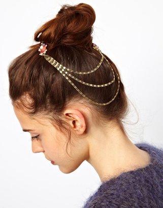 Asos Jewel & Chain Hair Combs