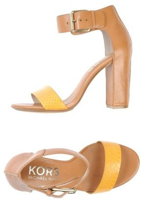 KORS High-heeled sandals