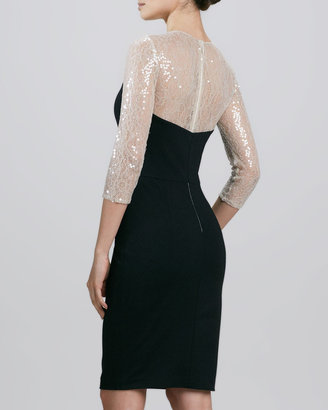 Erin Fetherston Erin by Illusion Lace Cocktail Dress
