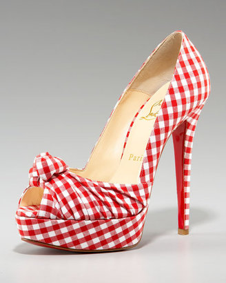 Shoe Porn: Christian Louboutin Gingham Greissimo Pumps
