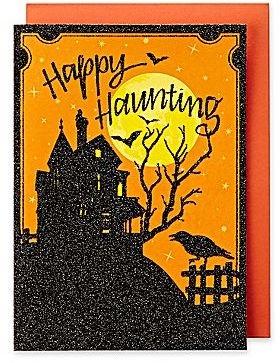 Martha Stewart MarthaCelebrationsTM Halloween Card – Haunted House