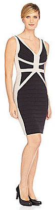 Jax Pleated Colorblock Dress
