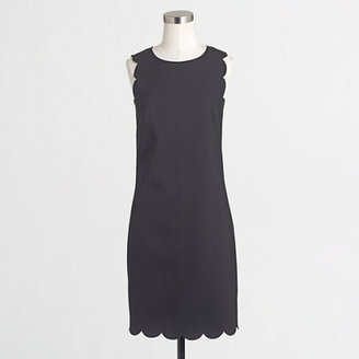 Scalloped shift dress $98 thestylecure.com