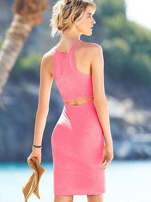 Victoria's Secret Essential Tees The Back Cutout Dress