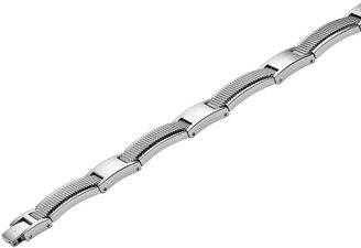 AXL by Triton Stainless Steel Textured Bracelet - Men