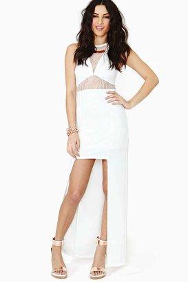 Nasty Gal Chimera Lace Maxi Dress