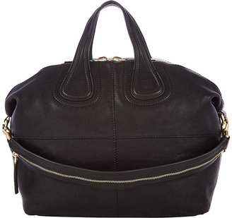 Givenchy Women's Medium Nightingale Zanzi Satchel-BLACK $819 thestylecure.com