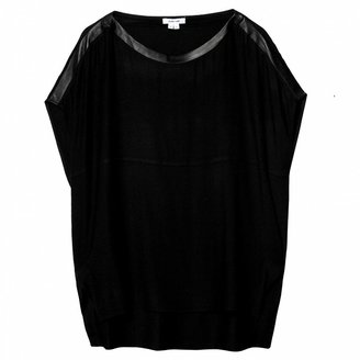 Helmut Lang Oversized Top With Slits