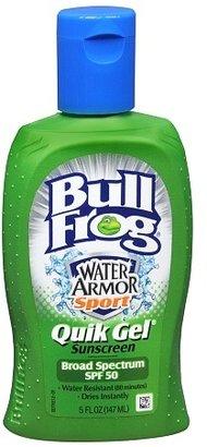 Bull Frog Water Armor Sport Quik Gel Sunblock SPF 50