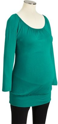Old Navy Maternity Jersey 3/4-Sleeve Tunics