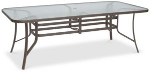 """Furniture Oasis Aluminum Outdoor 84"""" x 42"""" Dining Table, Created for Macy's"""