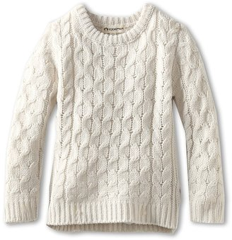 Appaman Kids - Aran Sweater (Toddler/Little Kids/Big Kids) (Snow) - Apparel