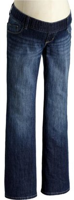 Old Navy Maternity Woven-Waistband Boot-Cut Jeans