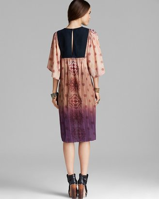 Free People Caftan Dress - Washed Woven