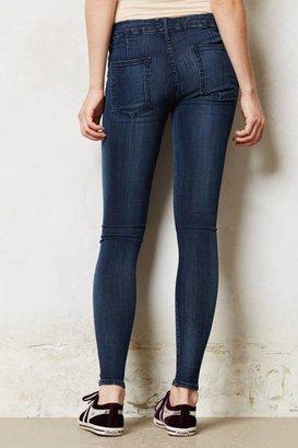 Anthropologie Koral Jet Skinny Jeans