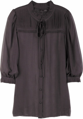Marc by Marc Jacobs Demi-sheer blouse