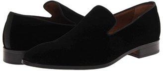 Massimo Matteo Velvet Slip-On (Black) Men's Slip on Shoes