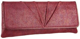Lodis Stardust Veronica Foldover Clutch (Merlot) - Bags and Luggage