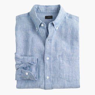 Slim délavé Irish linen shirt $69.50 thestylecure.com